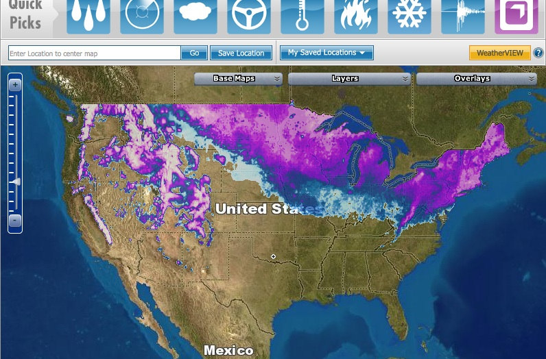 A Real-Time Snow Map for Armchair Wolverine Research | The ...