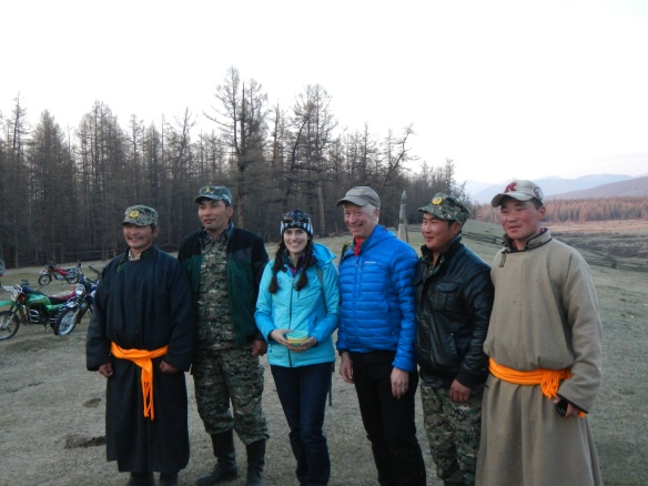 With all the rangers who have seen a wolverine, during workshop with park staff, 2014